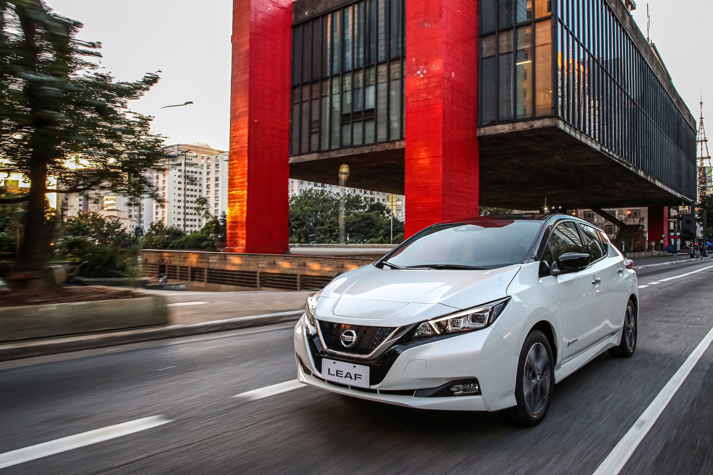 Nissan contributes to sustainable energy and mobility